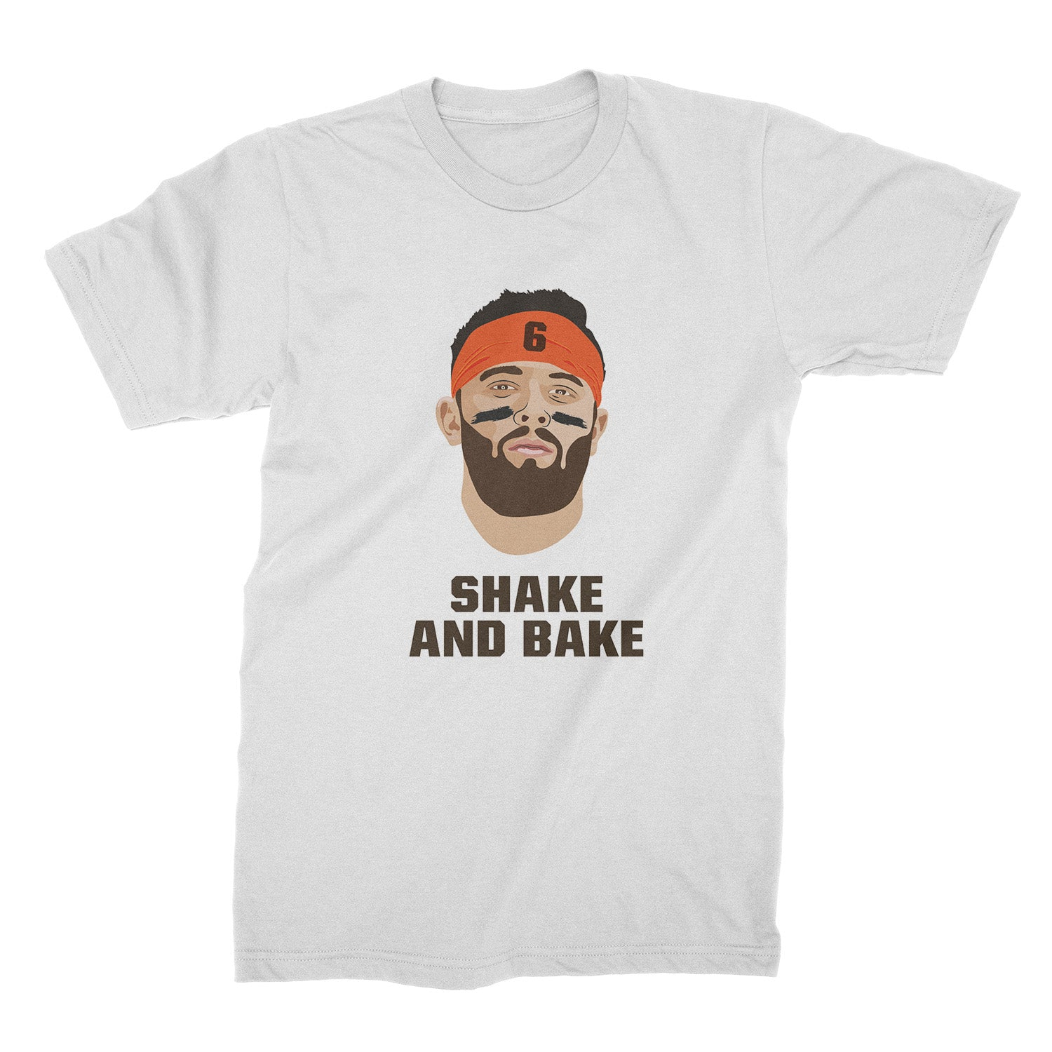 5ad1ceb2 Baker Mayfield Shirt Browns Tshirt Baker Mayfield Shake and Bake ...