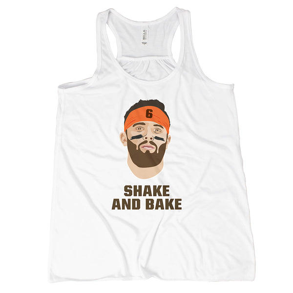 Baker Mayfield Tank Top Browns Womens Tank Baker Mayfield Shake and Bake