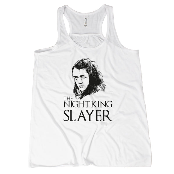 Arya Stark Tank Top The Night King Slayer Not Today Arya