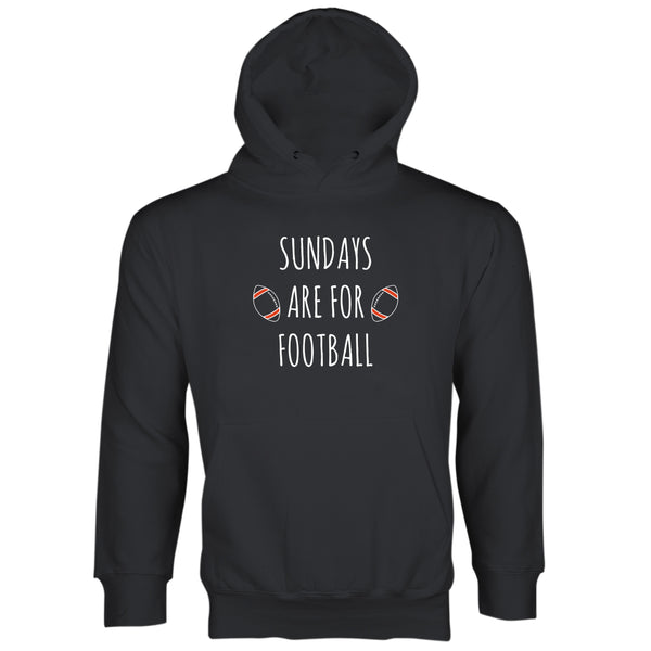 Sunday Football Hoodie Sundays Are For Football Sunday Sweatshirt
