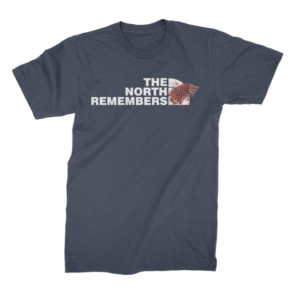 The North Remembers T Shirt Winterfell Shirt House Stark Tshirt