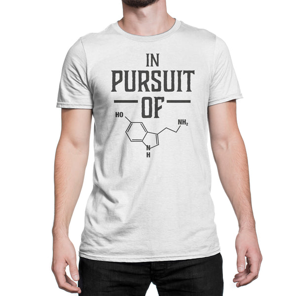 In Pursuit of Happiness Chemical Shirt Funny Chemistry T-Shirts