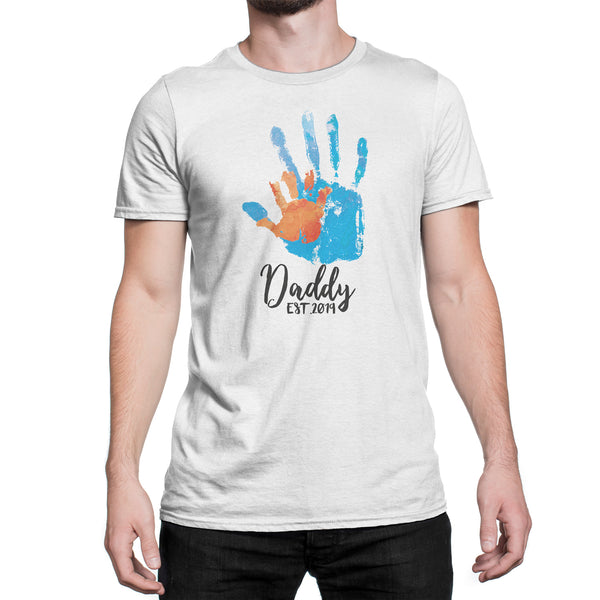 Dad est 2019 Shirt New Parents Shirt New Dad Tshirt