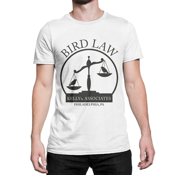 Kelly and Associates Shirt Bird Law T-Shirt Charlie Kelly Bird Law Tee Its Always Sunny In Philadelphia Clothing