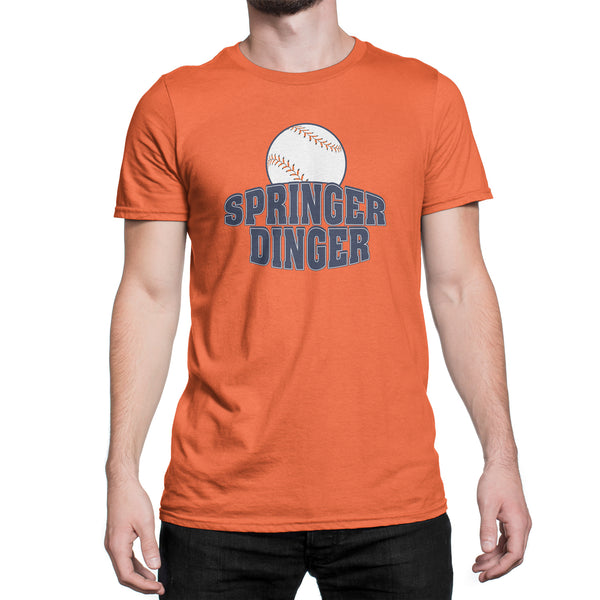 Springer Dinger Shirt Houston Astros George Springer Shirt