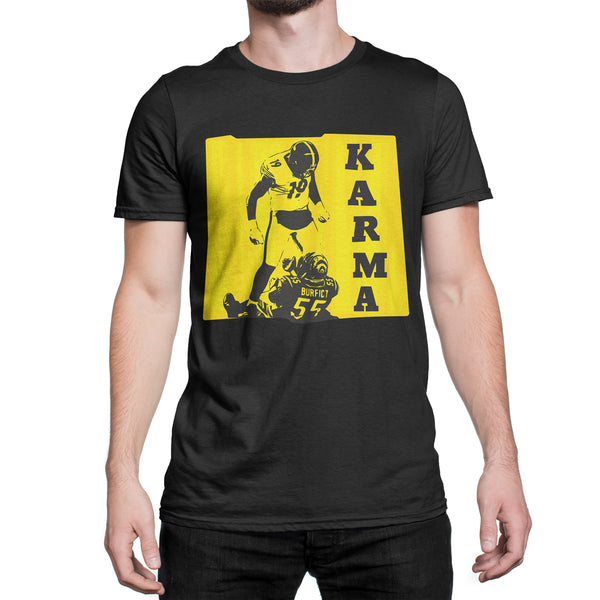 Steelers Karma Shirt Juju Smith Schuster T-Shirt Juju Karma Tee Antonio Brown Karma Tshirt