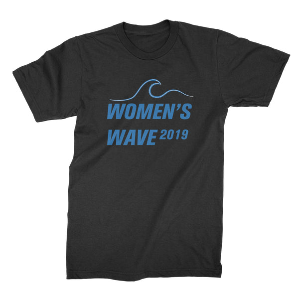Women's Wave 2019 Shirt The Future is Female Shirt Womens Wave Tshirt
