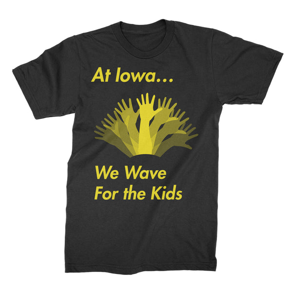 At Iowa We Wave For the Kids