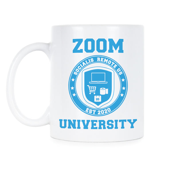 Zoom University Mug Social Distancing Coffee Mug