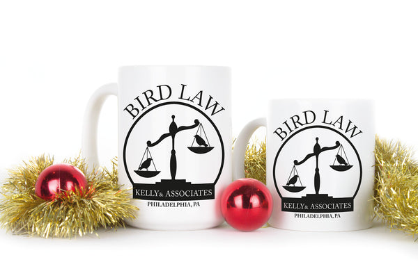 Kelly and Associates Gift Mug Bird Law Coffee Mugs Charlie Kelly Bird Law Cups Its Always Sunny In Philadelphia Cup