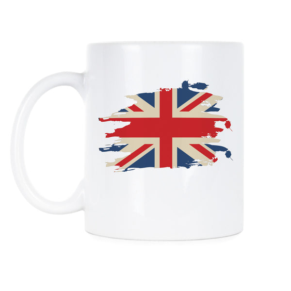 Union Jack Coffee Mug British Flag Mug Union Jack Cup United Kingdom Mug