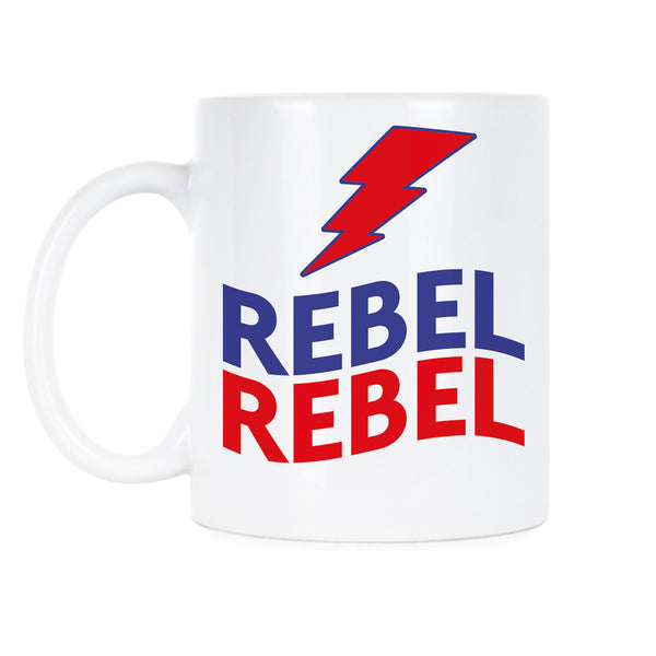 Rebel Rebel Coffee Mug Bowie Coffee Mug