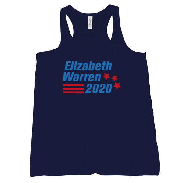 Elizabeth Warren 2020 Tank Top Womens Nevertheless She Persisted Tank