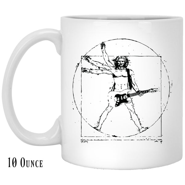 Vitruvian Rocker Coffee Mug
