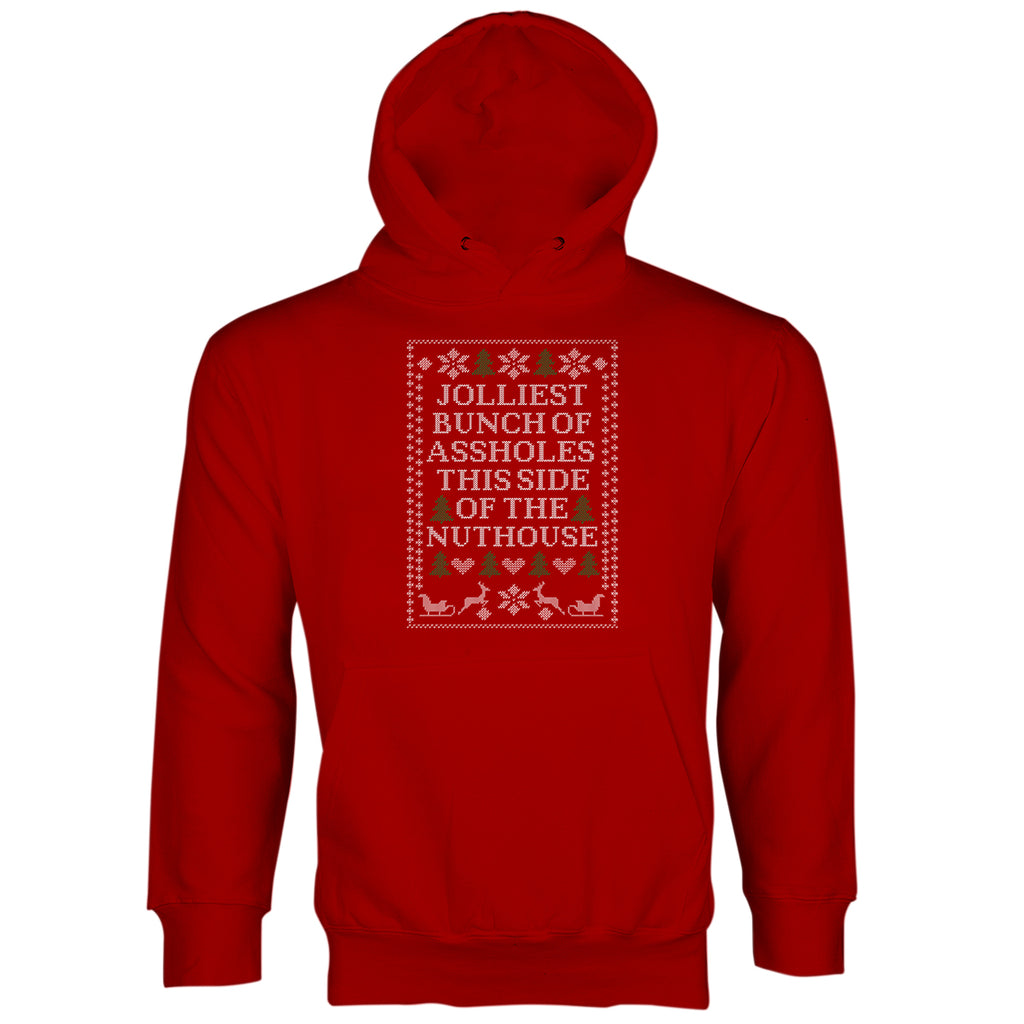 Jolliest Bunch of A-Holes Hoodie Christmas Vacation Hoodie Sweater