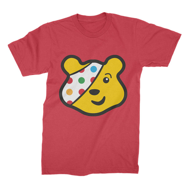 Pudsey Bear Shirt Pudsey Children in Need T-Shirt Pudsey Childrens Show Tee Pudsey Bear Clothing