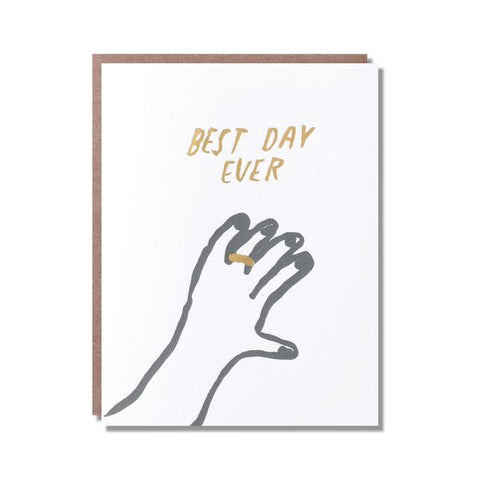 Wedding Card - Best Day Ever