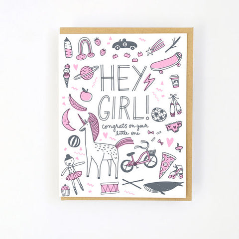 Welcome baby - Girl things