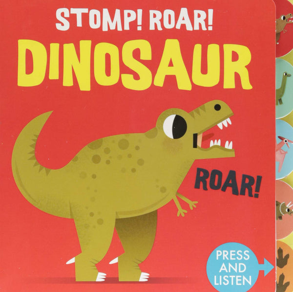 BOOK-SOUNDS OF THE WILD:STOMP ROAR!