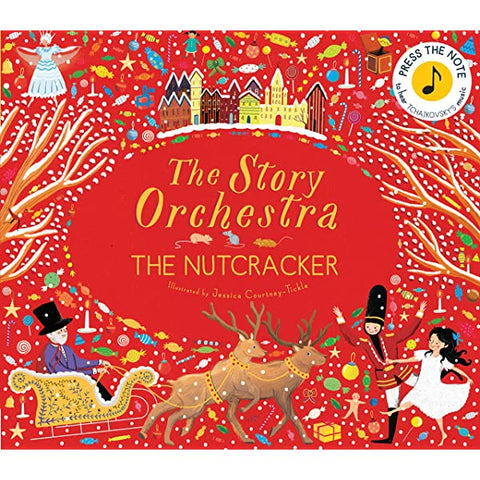 Book-Nutcracker: Press the note to hear
