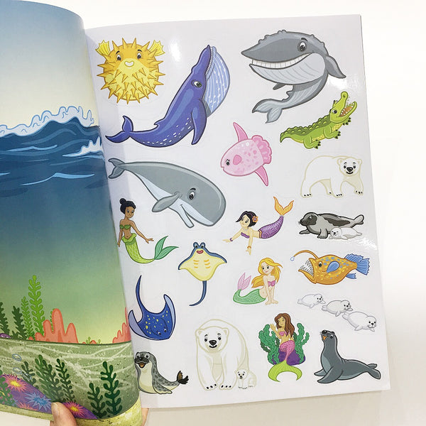 Book - Jumbo Stickers for little hands