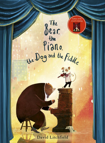 BOOK-BEAR,THE PIANO, THE DOG AND THE FIDDLE