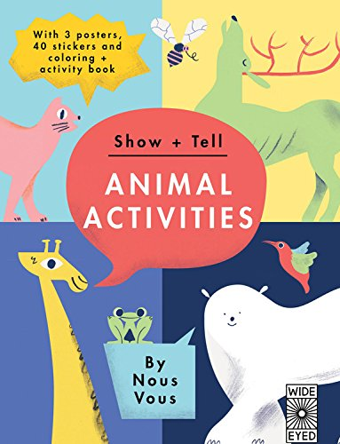BOOK-SHOW+TELL: ANIMAL ACTIVITIES