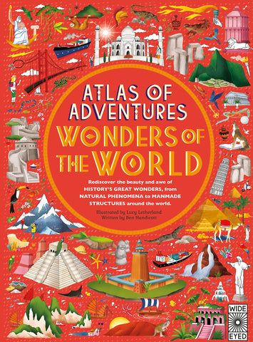 Book-Atlas of adventure : Wonders of the world