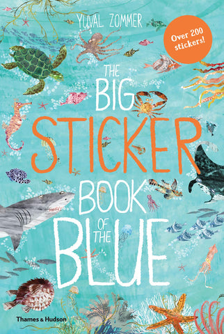 Book-Big sticker book of the BLUE