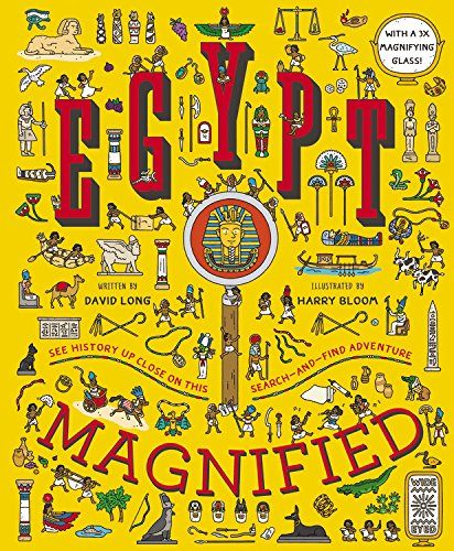 Book-Egypt Magnified : With a 3x Magnifying glass