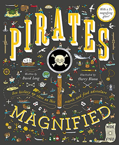 Book-Pirates Magnified: With a 3x magnifying glass