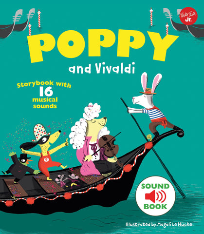 Book-Poppy and Vivaldi: With 16 Musical Sound