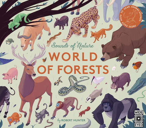 Book- Sound of nature World of Forests : Press each note to hear animal sounds