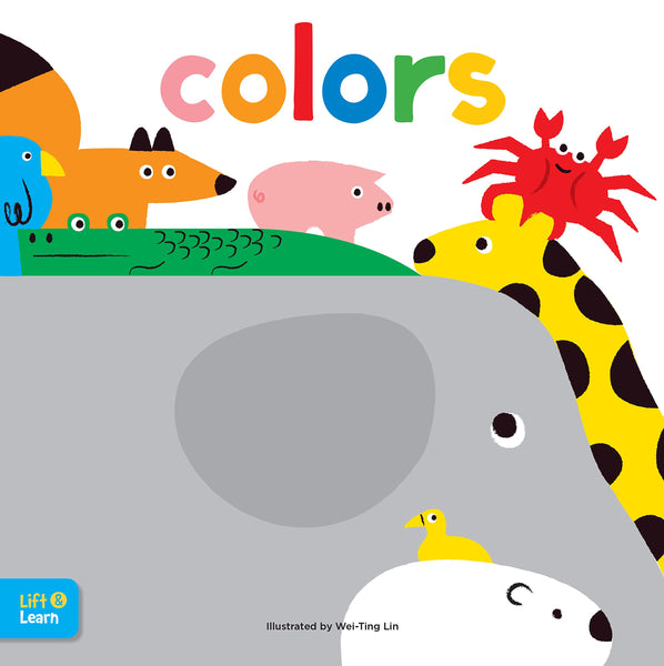 Book-Colors Lift & Learn