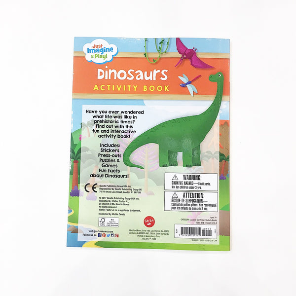 Book - Just Imagine & Play! Dinosaurs Sticker