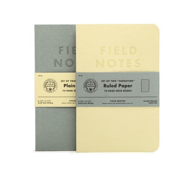Signature | Field Notes