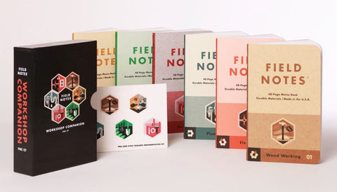 Workshop Companion 6-Pack Box set | Field Notes