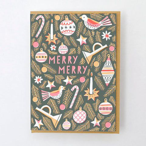 Christmas Card - Merry Merry