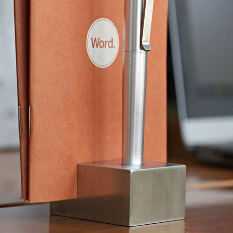 The Writers Block (Stainless Steel)