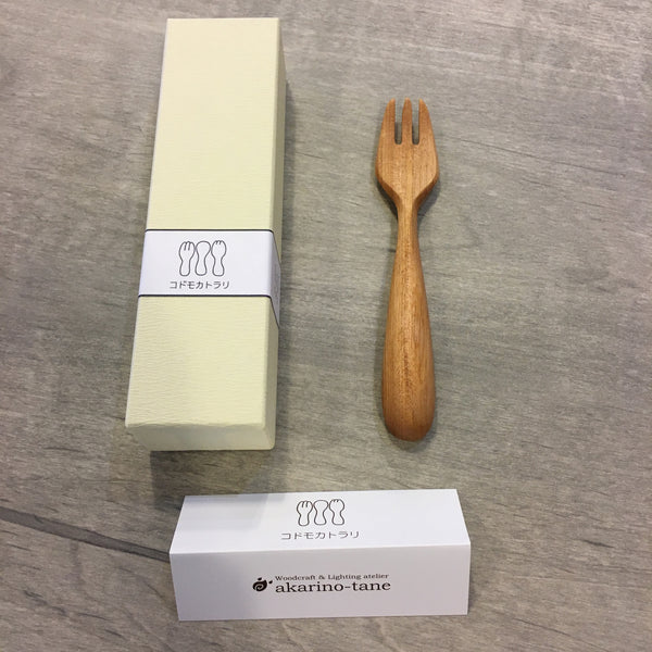 Handmade wooden Child Fork