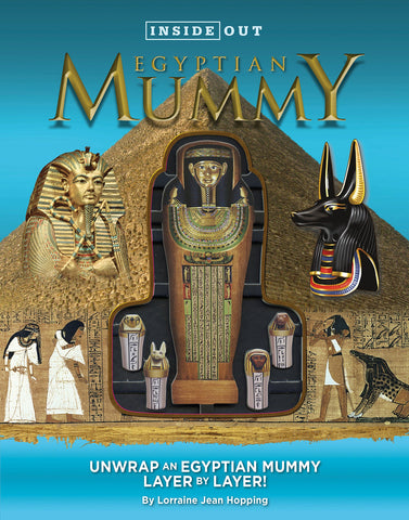 Book - Inside out egyptian mummy