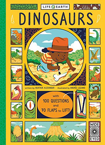 Book - Life on earth: Dinosaurs