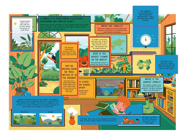 Book - Life on earth: Jungle