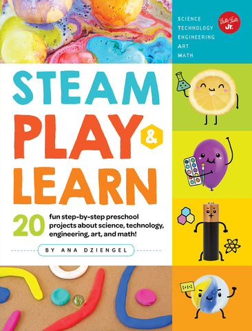 Book-STEAM PLAY&LEARN: 20 FUN STEP-BY-STEP