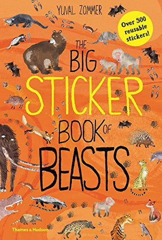 BIG STICKER BOOK OF THE BEASTS