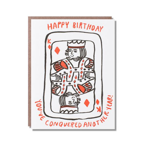 Birthday card - Birthday King