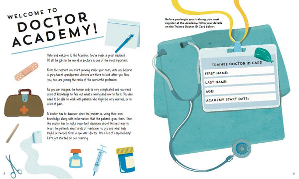 Book - Doctor Academy are you ready for the challenge?