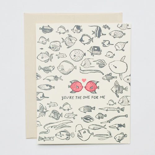 Greeting Card - Fish in the sea
