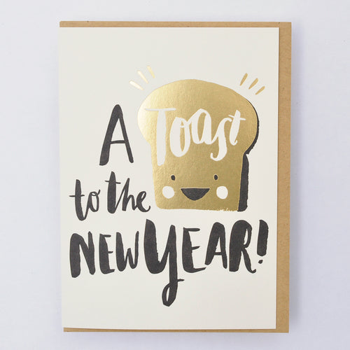 Greeting Card - Toasty new year