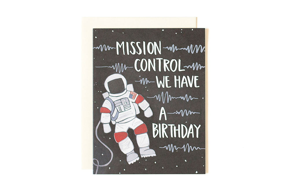Birthday card - Astronaut